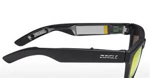 oakley design zungle panther audio sunglass the awesomer