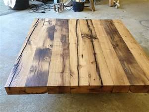 Alte Holzbalken Aufarbeiten : tisch aus alten eichenbalken fachwerk antik ~ Frokenaadalensverden.com Haus und Dekorationen