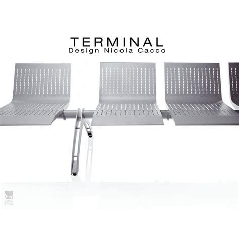 banc pour salle d attente terminal assise 2 places