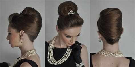 1950s Hairstyles Tutorial by Hepburn Hairstyle Hair Iulian Urlan Hairstyle By