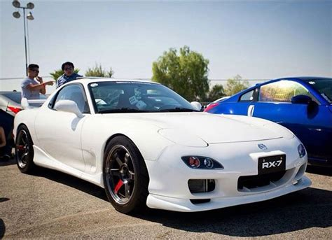 White Mazda RX-7 | Rotary Power | Pinterest | Mazda, Rx7 ...