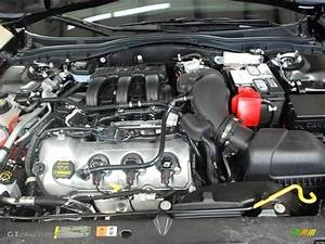 2012 Ford Fusion Sport Engine Photos
