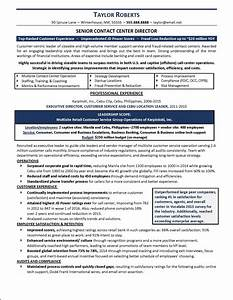 resume example call center With call center agent resume