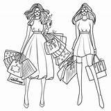 Coloring Sandbox Barbie Shopping Apps Getdrawings Printable sketch template