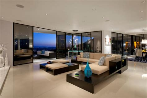 21+ Glass Wall Living Room Designs, Decorating Ideas