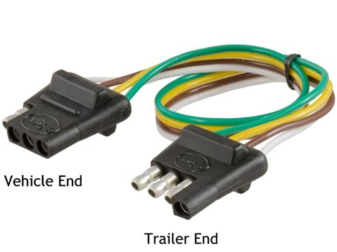 trailer light plug types choosing the right connectors for your trailer wiring