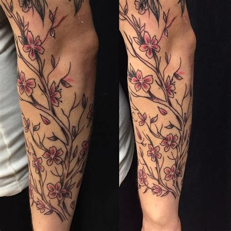 japanese cherry blossom tattoo designs