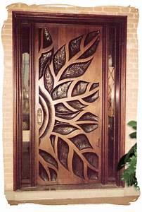 Contemporary, Solid, Wooden, Door, Designs