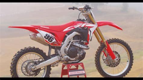 2017 Honda Crf Dirt Bike / Motorcycle Model