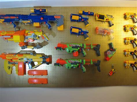 nerf gun rack nerf weapons rack cosmecol