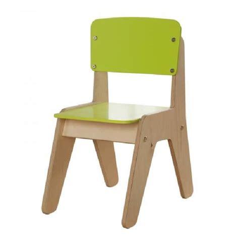 chaise de bureau en bois enfant millhouse vert achat