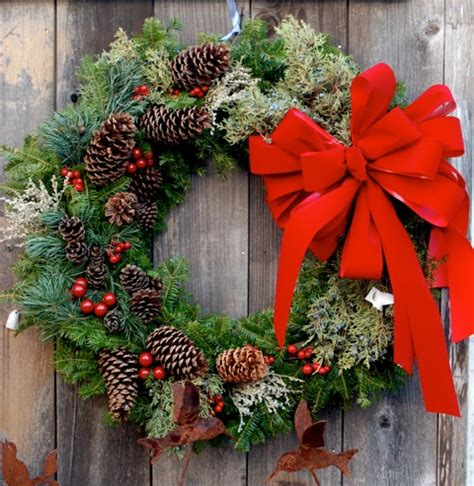 Pine Cone Door Decoration by Natureworks Christmas