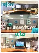 Work Office Decorations On Pinterest Decorating Work Cubicle Office Workspace Desk Home Office Apartment House Home Decor Interior Design 20 Cubicle Decor Ideas To Make Your Office Style Work As Hard As You Design Ideas Decoration Design Offices Office Desks Office Cubicles