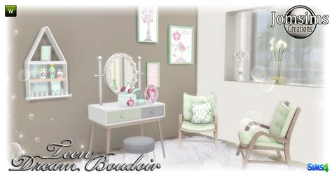 mirror wall decor bedroom sims 4
