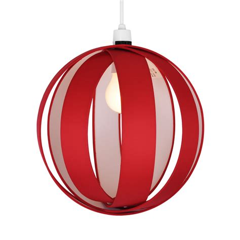 Red Ceiling Light  Adding Elegance And Vintage Look To