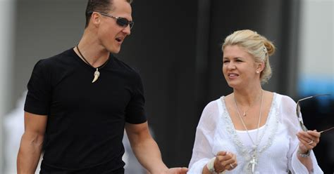 michael schumacher latest wife corinna  rest