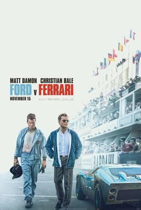 The second trailer for the movie ford vs. Ford vs. Ferrari - The IMAX Experience | Movie Trailer and Schedule | Guzzo