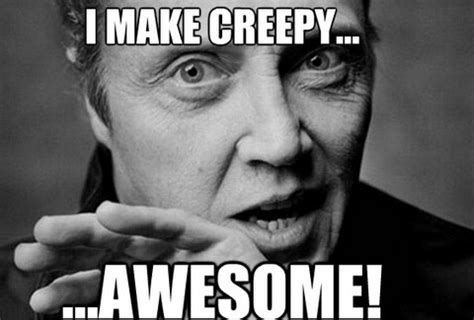 Christopher Walken Memes - christopher walken meme beautiful people pinterest love lol and he is