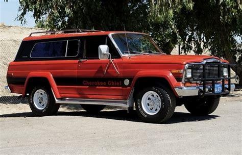1979 jeep cherokee chief native survivor 1979 jeep cherokee chief s bring a trailer