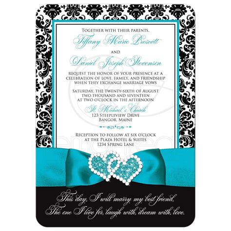 wedding invitation photo optional black  white