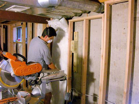 Insulating Basement Walls Hgtv