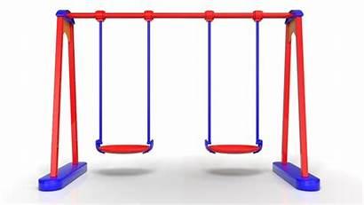 Swing 3d Cartoon C4d Models Turbosquid Rigged