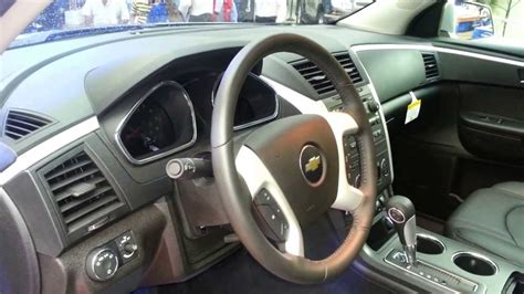 interior chevrolet traverse lt  version  colombia