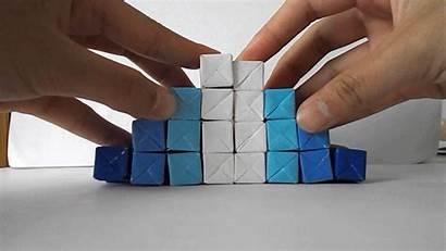 Origami Kinetic Jo Nakashima Cube Sculpture Diy