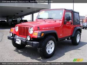 Jeep Wrangler Red Interior Rubicon 10th Anniversary Edition Red