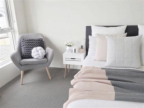 blush white  grey bedroom inspiration