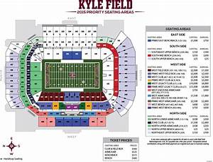 Kyle Field Seating Chart Student Section At Your Stadium Secrant Com
