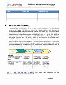 Pm002 02 organizational change management plan for Change management communication template