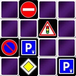 Jeu Code De La Route : jeu de memory th me panneaux routiers ou code de la route ~ Maxctalentgroup.com Avis de Voitures
