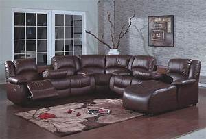 Leather sectional sofas with recliners and chaise best for 4 pcs sectional sofa