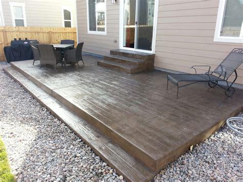 Diy Patio Diy Concrete Patio Steps Diy Concrete Pumping