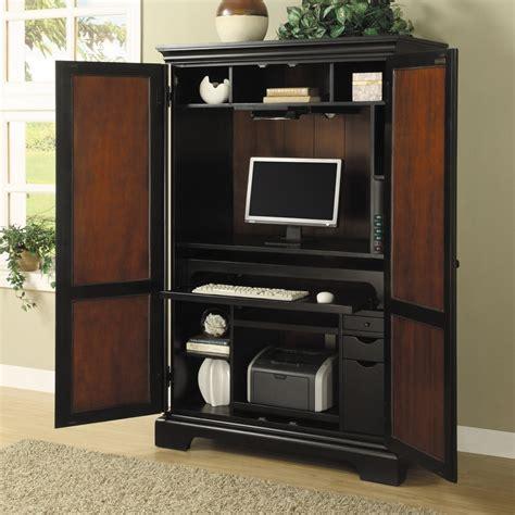 bureau armoire computer cabinet armoire desk workstation images