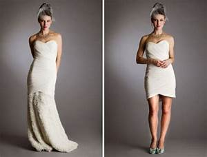 convertible wedding gown detachable skirt di candia fashion With convertible wedding dresses detachable skirts