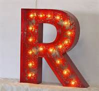 Marquee Letters Letters And Vintage Style On Pinterest Large Marquee Letters 24 LARGE Old Vintage Style Marquee Letters Metal Steel A B Ever Wonder What To Do With Those Big Paper Mache Letters The Magic