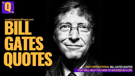 21 Best Bill Gates Quotes - Inspiring and Motivational Story