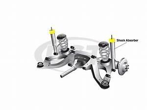 Rear Shock Bushings - Pontiac Gto