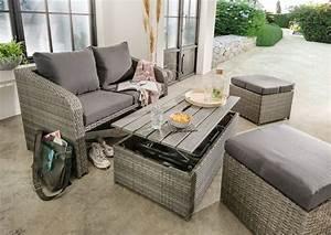 Couch Hocker Als Tisch : destiny loungeset jersey 10 tlg 2er sofa 2 hocker tisch 108x58 cm inkl auflage online ~ Bigdaddyawards.com Haus und Dekorationen