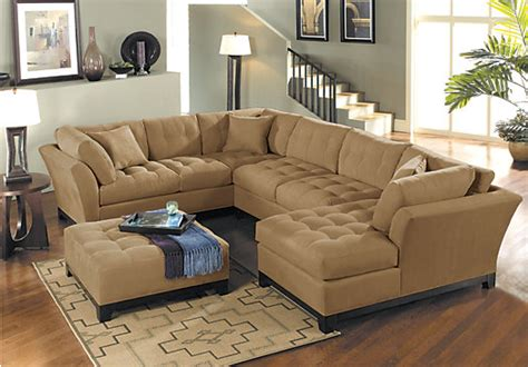 Metropolis 3pc Sectional Sofa by Metropolis Peat 3pc Sectional Living Room