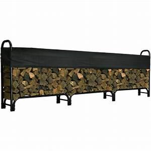 Roughneck, Covered, Firewood, Rack, U2014, 12, Ft, L, Model, 90352