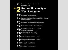 Among best schools with rolling admissions, Purdue ranks