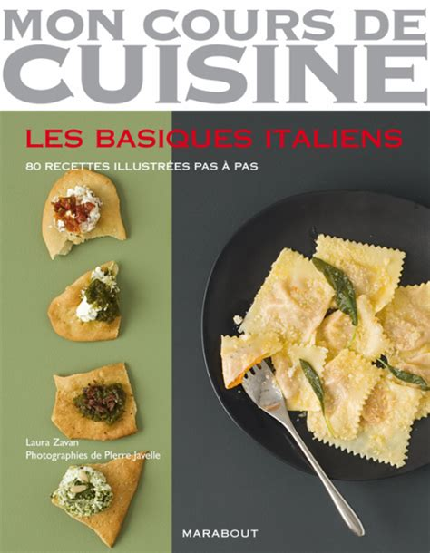 livre de cuisine marabout les basiques italiens zavan cuisine italienne