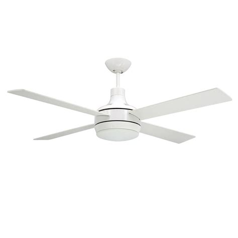 quantum ceiling by troposair fans white finish with