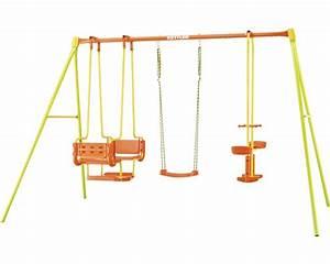 Kettler Rutsche Metall : einzelschaukel kettler 4 metall mit tellerwippe gondel gr n gelb orange bei hornbach kaufen ~ Watch28wear.com Haus und Dekorationen