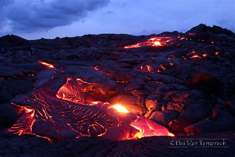 6 foot lava l capturing the moment lava flowing into the ocean big