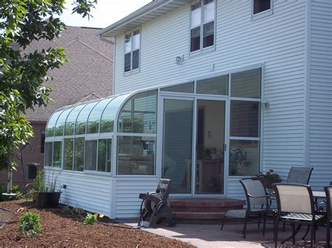 sunroom wi style green bay curved eave solarium designs green bay home