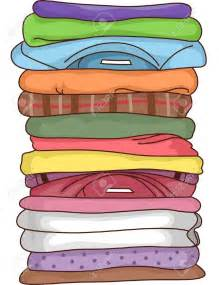 Stack Folded Clothes Clip Art